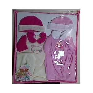 Deluxe Fashion Set for 10   12 Dolls   Cat & Cow: Toys & Games