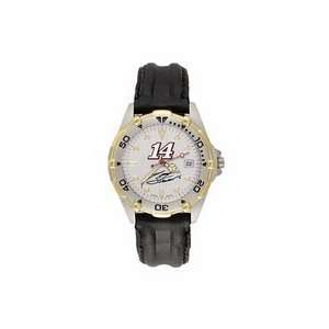 #14 Mens All Star Watch with Black Leather Strap