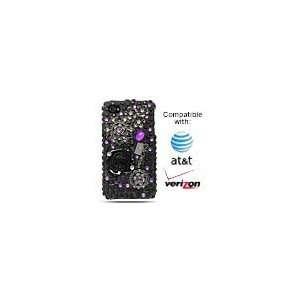 Verizon Apple iPhone 4 HD Cell Phone Premium 3D Full Diamond Crystals