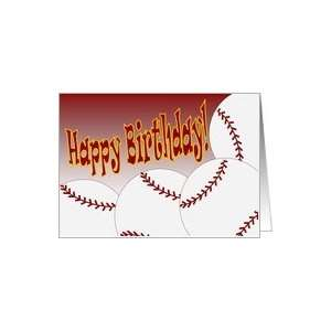 Happy Birthday to Our Favorite Softball Star & Son! Card: Toys & Games
