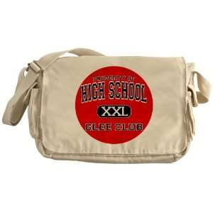 Messenger Bag Property of High School XXL Glee Club