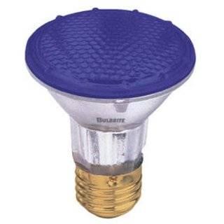 65 Watt Blue Incandescent Flood Light Bulb / BR30 Shape (3.75