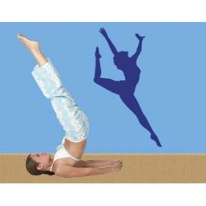 Gymnastics   Vinyl Wall Decal