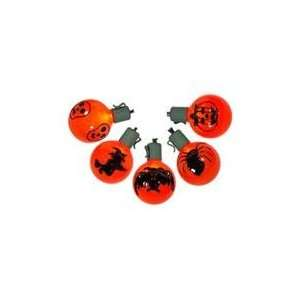 Operated Blood Orange LED G50 Halloween Lights Patio, Lawn & Garden