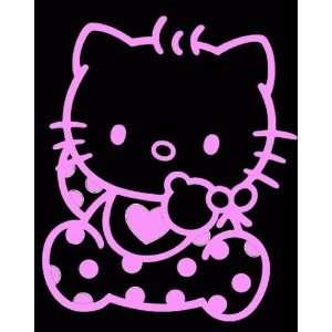 HELLO KITTY BABY  6 SOFT PINK   Vinyl Decal Sticker   NOTEBOOK
