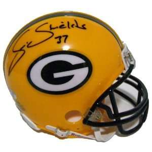 Sam Shields Signed Mini Helmet   Autographed NFL Mini Helmets