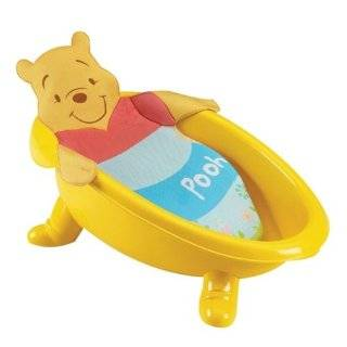 Disney Newborn To Toddler Bath Tub, Winnie The Pooh Baby