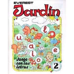 JARDIN JUEGO CON LAS LETRAS 2 (9788424161088): AURORA DE