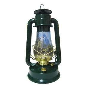 V&O 310 80061 Supreme Brass Trim Oil Lantern Blue Patio