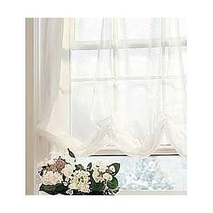 JC Penney Voile Lisette Balloon Shade Cream