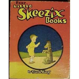 Four Little Skeezix Books Box Set Shelf AA (Skeezix Out West, Skeezix