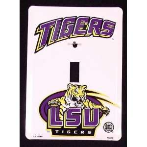 America sports LSU Louisiana State Tigers Light Switch Covers (single