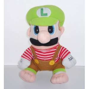 Super Mario Brothers Luigi Plush   11 Inch Toys & Games
