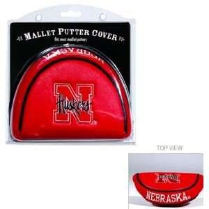 Nebraska Huskers Mallet Putter Cover