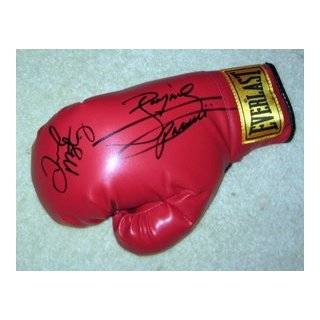 FLOYD MAYWEATHER JR & MANNY PACQUIAO signed BOXING Glove