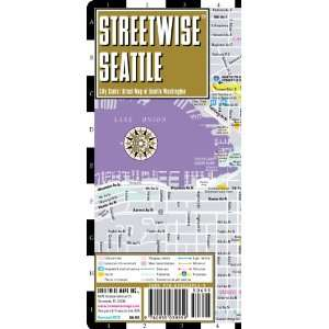 Streetwise Seattle Map   Laminated City Center Street Map