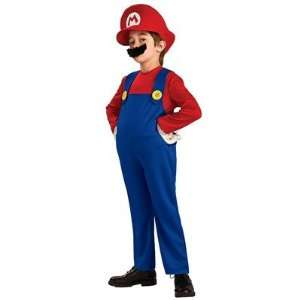 Super Mario Bros. Costumes    Mario Deluxe Child Costume