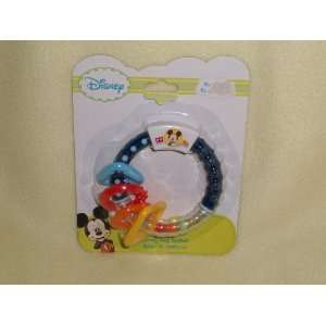 Disney Mickey Mouse Activity Ring Teether Toys & Games