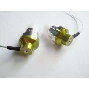 Sound In Ear Headphone for iPod/iPhone//MP4  Green Electronics