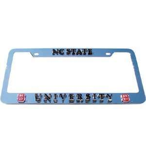 North Carolina State Wolfpack Deluxe License Plate Frame