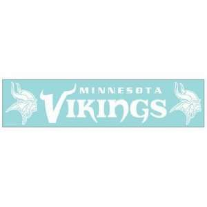 NFL Minnesota Vikings 4x16 Die Cut Decal  Sports