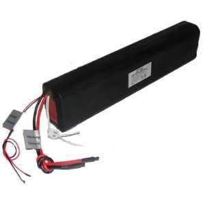 Custom NiMH Battery Pack: 36V 13Ah (30xF ) with 10K Thermistor and 70C