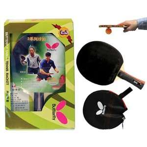 Butterfly 303 Shakehand Table Tennis Paddle  Sports