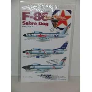 F 86 Sabre Dog Fighter Jet Part 3    Model Aircraft Decals