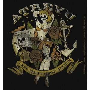 Atreyu Rock Music Band   Pirate Girl Logo   Vinyl Sticker