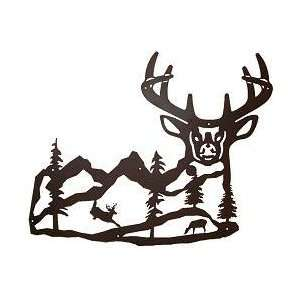 Majestic Deer Wall Silhouette (Large): Everything Else
