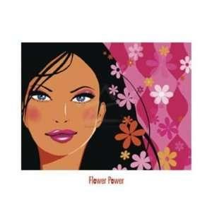 Mandy Reinmuth   Flower Power Canvas