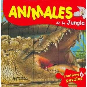Animales de La Jungla   Contiene 6 Puzzles (Spanish