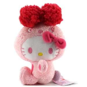 Furyu Hello Kitty Colorful Bunny Plush   3220   8 Pink Toys & Games