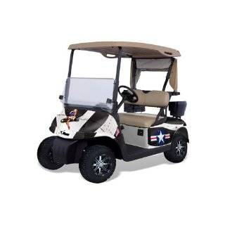 AMR Racing Fits Ezgo Golf Cart Graphic Kit (1996 2010) Bone Collector