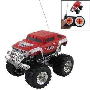 Gino 1:43 Scale Racing Car Radio Remote Control RC 4x4 Truck Humvee
