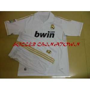 new style 2011 2012 club real madrid home white soccer