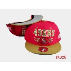 NFL San Francisco 49ers Snapback Red Hat