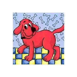 Big Red Dog   Peel and Stick   Wallpaper Border