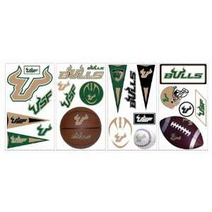 USF Bulls Kids Removable Wall Graphics Stickers