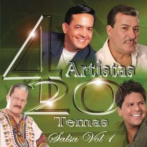 4 Artistas 20 Temas Salsa, Vol. 1 Various Artists Music