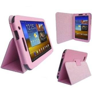 Zebra Design Executive Leather Folio Case Cover for Samsung Galaxy Tab