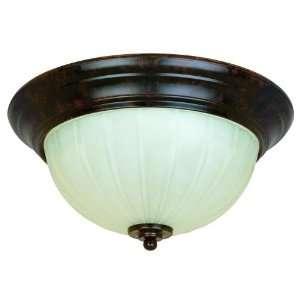 56 Wyngate Energy Star Flush Mount New Tortoise Shell 1   T9CFL Bulbs