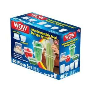 Set WOW Interchangeable Food Storage Container Patio, Lawn & Garden