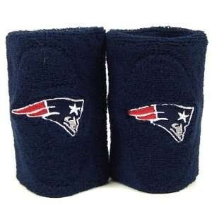 NEW ENGLAND PATRIOTS OFFICIAL TEAM LOGO SWEATBANDS
