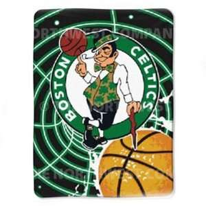 NBA 60 x 80 Super Plush Throw   Boston Celtics   Boston