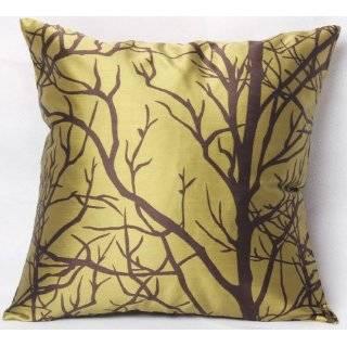 Modern Darkolivegreen Chocolate Throw Pillow Cover