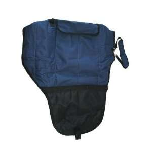 Deluxe Western Horse Saddle Carrier Bag Navy Blue Sports