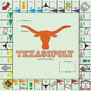 Texas Longhorns Monopoly Game Toys & Games