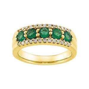 Genuine IceCarats Designer Jewelry Gift 14K Yellow Gold Wedding