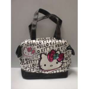 Hello Kitty Black & White Purse Green Clover Toys & Games